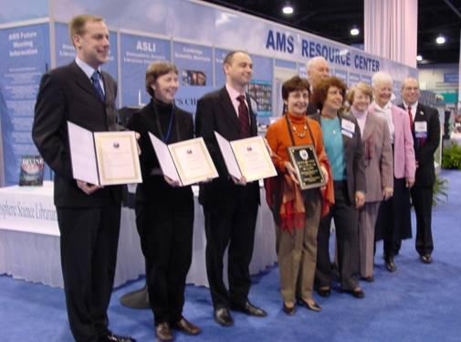 photo of award winners and awards committee members